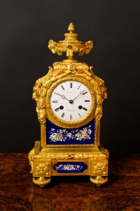 Olde Time French Gilded Ormolu Mantel Clock
