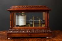 Olde Time Victorian Oak Cased Barograph