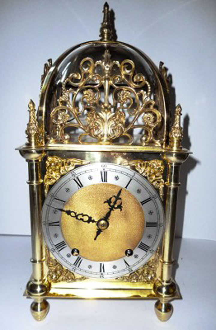 Victorian Lantern Clock Olde Time Antique Clocks And
