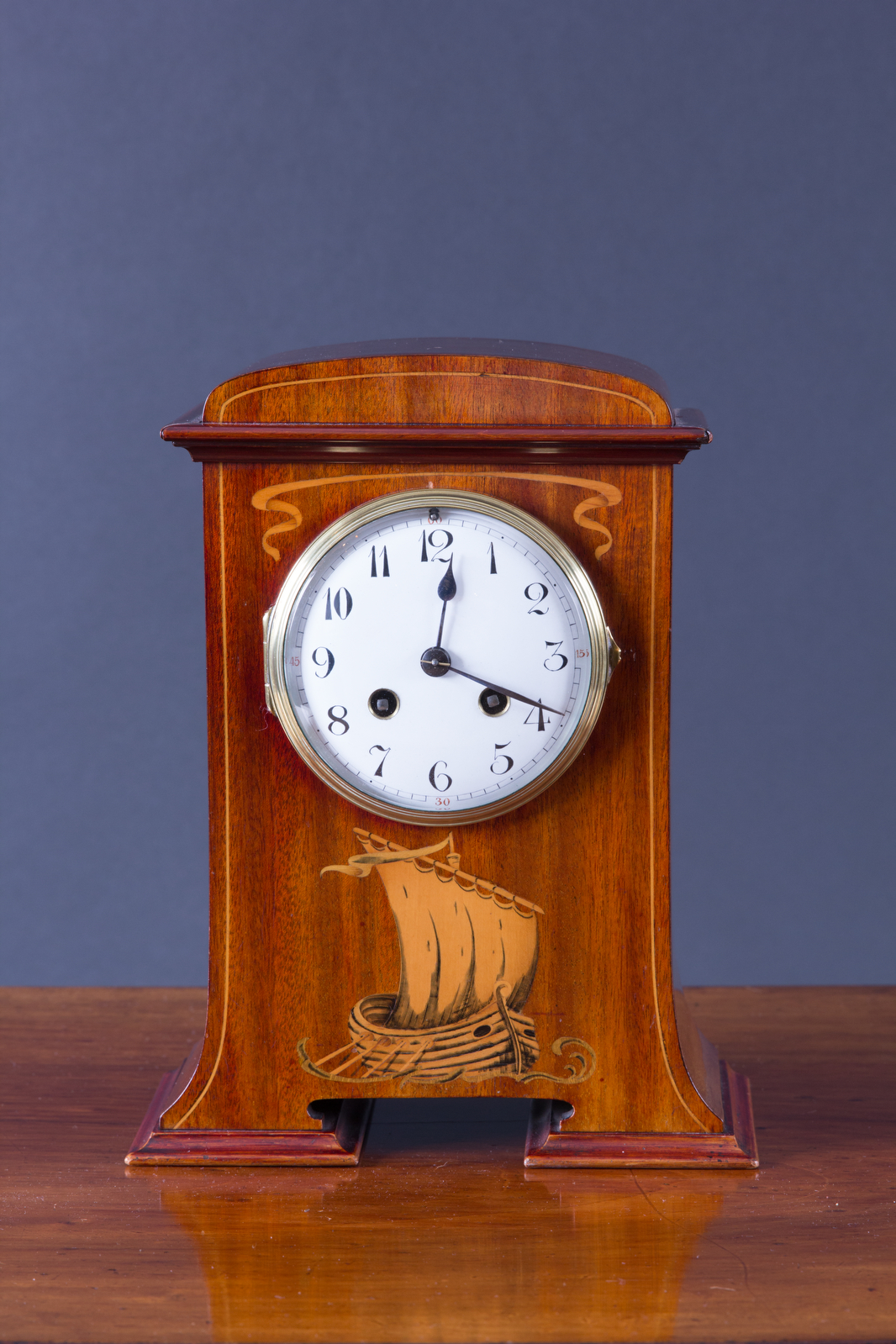 Olde Time Art Nouveau Mantel Clock