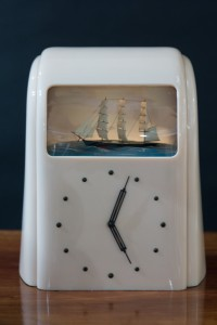 Olde Time Vitascope Electric Clock