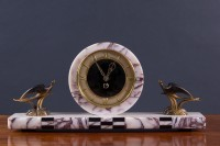 Olde Time Art Deco Mantel clock