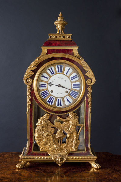 Olde Time Louis XIV Boulle Clock