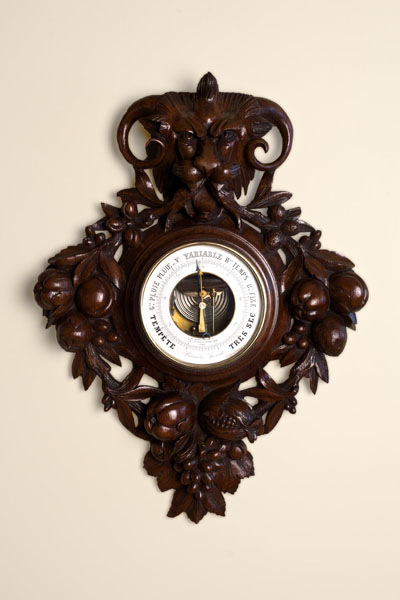 Olde Time French Carved Barometer