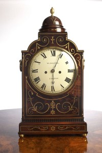 Olde Time George III Bracket Clock by William Chater