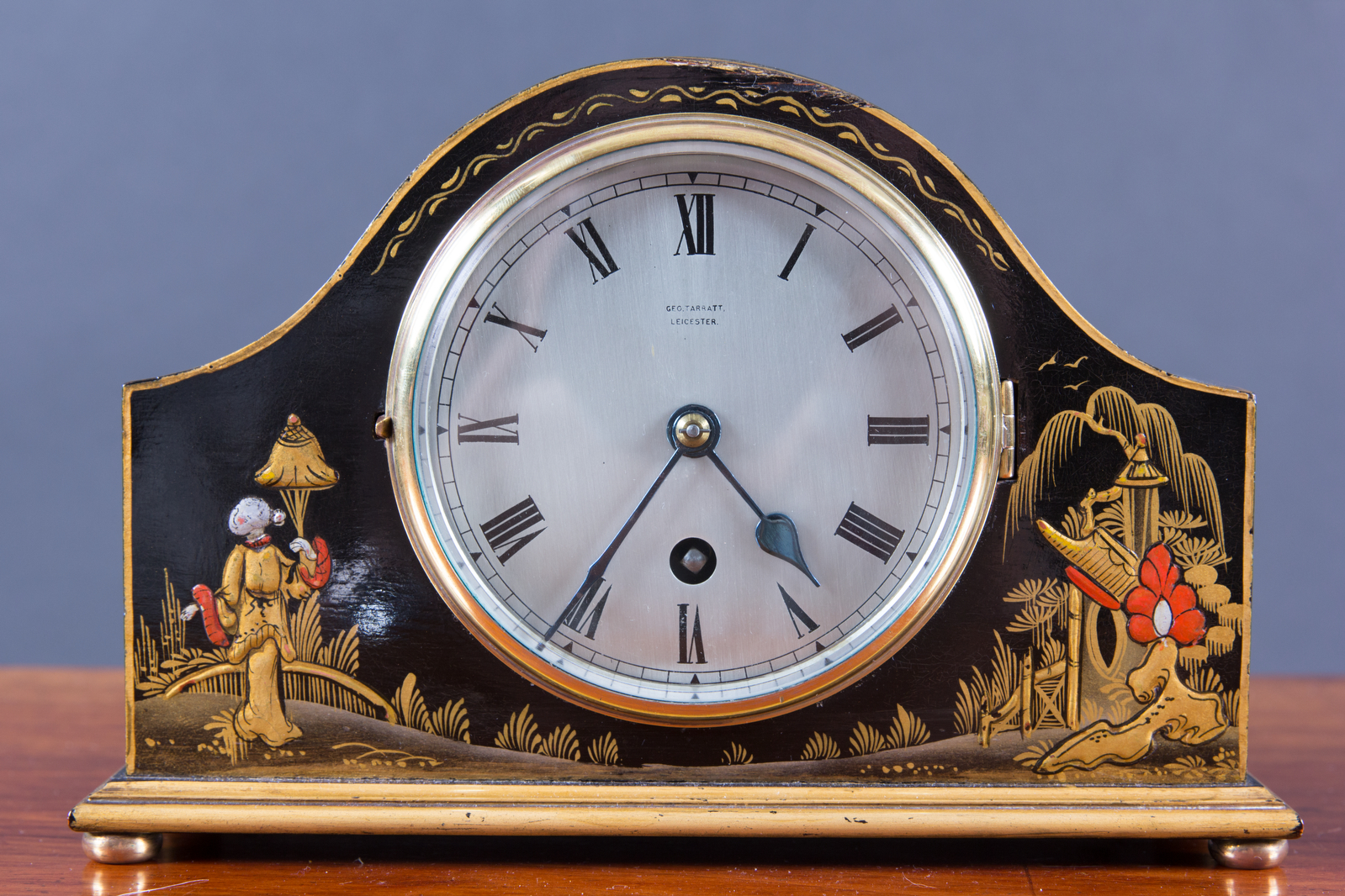 Mantel Clock by Geo. Tarratt, Leicester