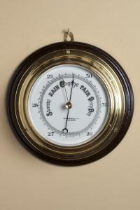 Olde Time Victorian Ships Barometer by John Barker, Kensington