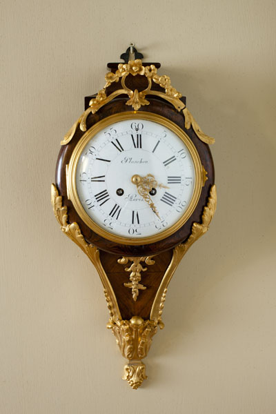Olde Time French Kingwood Cartel Clock