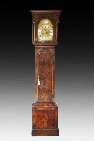 Olde Time Queen Anne Longcase Clock by John Levitt