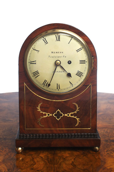 Olde Time Regency Bracket Clock by Memmes, Trafalgar Sq.