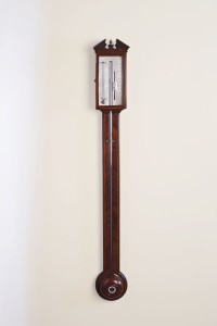 Olde Time George III Stick Barometer by Negretty & Co, London