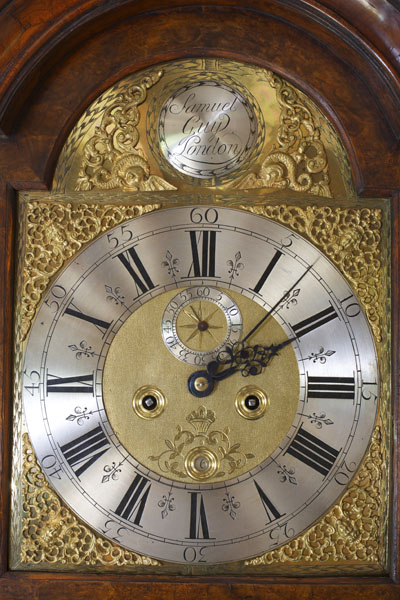 George I Longcase Clock By Samuel Guy C 1715 Olde Time