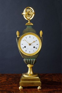 Olde Time Empire Vase Clock