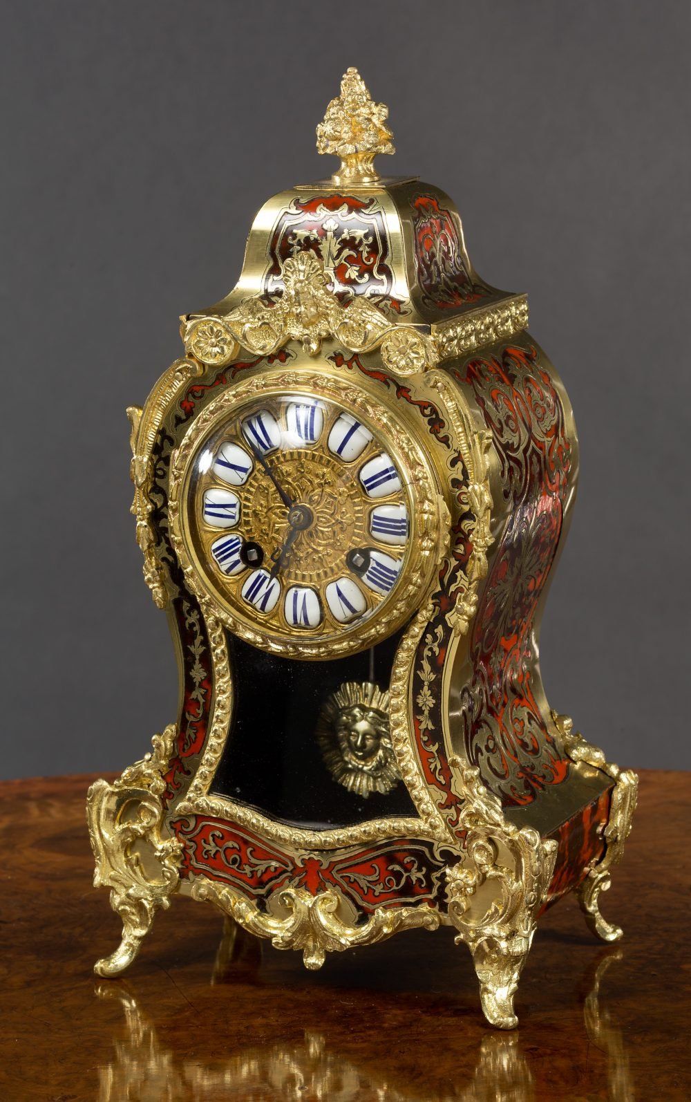 French Boulle Clock Olde Time Antique Clocks And Barometers