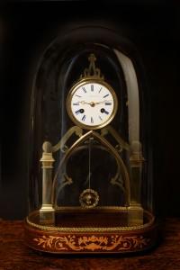 Olde Time French Skeleton Clock