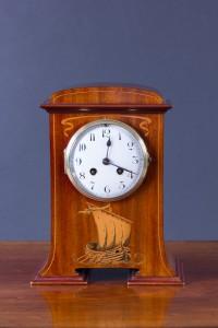 Olde Time Art Nouveau Mantel Clock