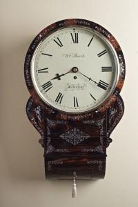Olde Time Regency 'Mother of Pearl' Drop Dial Clock