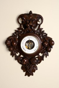 Olde Time French Carved Barometer