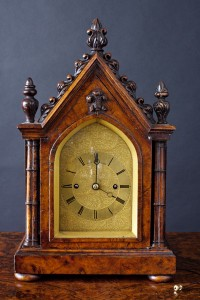 Olde Time William IV Bracket Clock by Daniel Ross, Exeter