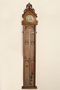 Olde Time Victorian Fitzroy Barometer by Ashton & Mander, London