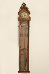 Olde Time Victorian Fitzroy Barometer by Ashton & Mander, London