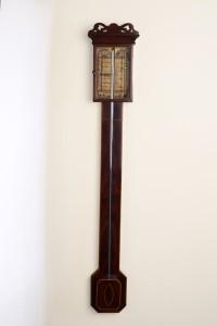 Olde Time Regency Stick Barometer by Charles Howorth, Halifax