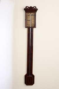 Olde Time Regency Stick Barometer by Charles Howorth, Halifax
