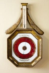 Olde Time French Gilt Barometer
