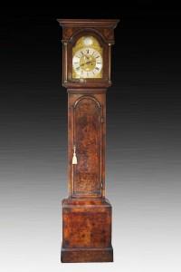 Olde Time Queen Anne Longcase Clock by John Levitt