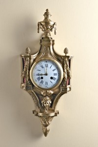 Olde Time French Ormolu Cartel Clock