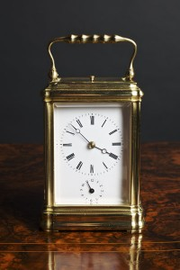 Olde Time Gorge Cased Repeating Carriage Clock
