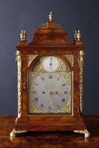 Olde Time George III Bell Top Bracket Clock By Thomas Pace, London
