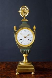 Olde Time Empire Vase Clock