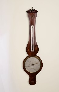 Olde Time George III Wheel Barometer by L. Martinelli, London
